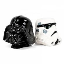 Star Wars Bokstøtter Darth Vader og Stormtrooper