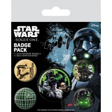 Star Wars Rogue One Badges 5-pakning the Empire