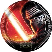 Tallerkener Star Wars 8-Pakning