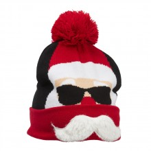Strikket Lue Cool Santa