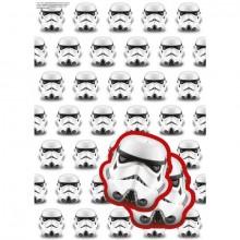 Star Wars Stormtrooper Innpakningspapir & til/fra lapper