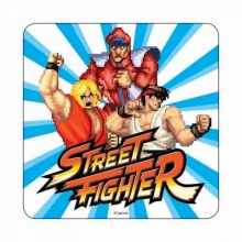 Street Fighter Drikkeunderlag