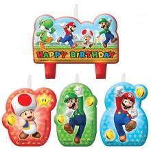 Lys Super Mario 4-Pakning