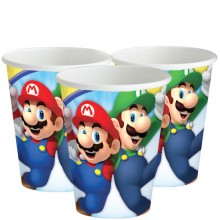 Pappersmugg Super Mario 8-pack
