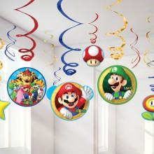 Dekorasjon Kit Super Mario 12-Pakning