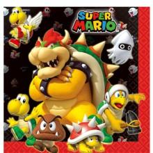Servietter Super Mario 16-pakning