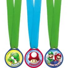 Super Mario Medaljer 12-Pakning