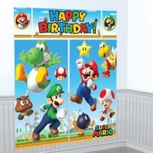 Veggdekorasjon Deluxe Super Mario