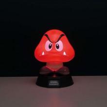 Super Mario Goomba 3D Lampe