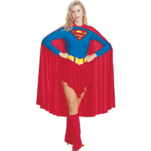 KOSTYME DC VOKSEN SUPERGIRL