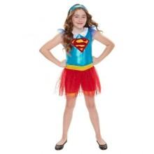 Supergirl Karnevalkostyme Barn