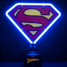 Superman-Neonlampe