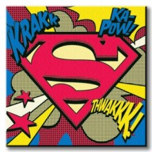 Ip - Superman (Pop Art Shield)40X40