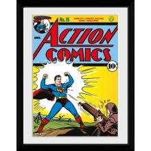 Superman Serieomslag Innrammet 30 x 40cm