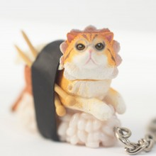 Sushi Cats Blind Box Nøkkelring