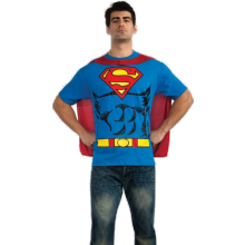 KOSTYME SUPERMAN T-SKJORTE