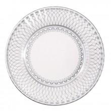 Tallerkener Elegant Sølv 8-pakning