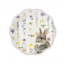 Tallerkener Truly Bunny 12-pakning