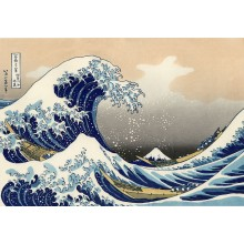 The Great Wave Off Kanagawa Poster