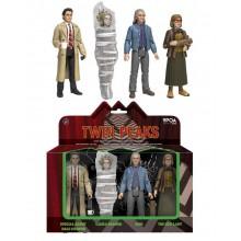 Twin Peaks Actionfigurer 4-pakning