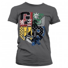 Harry Potter Dorm Crest Dame T-shirt