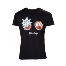Rick And Morty T-shirt Crazy Faces