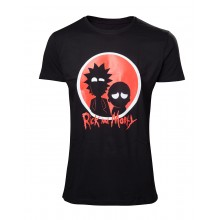 Rick And Morty T-shirt Big Red Logo