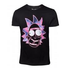 Rick And Morty T-shirt Neon Rick