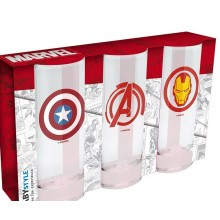 Marvel Glass 3-pakning