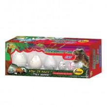 Klekkende Dinosauregg 6-pakning