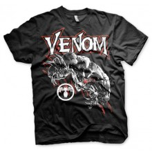 T-Skjorte Venom (Sort)