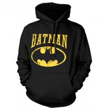 Hettegenser Vintage Batman (Sort)