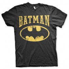 T-Skjorte Vintage Batman (Sort)