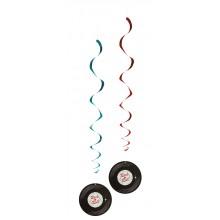 Dekorasjon Spiral Rock 50-tall 2-pakning
