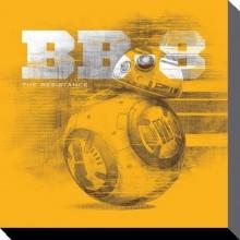 Star Wars Canvas Bb-8 40 X 40 Cm