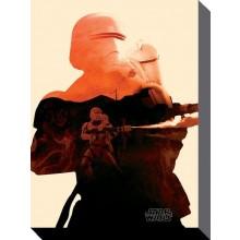Star Wars Canvas Flametrooper 60 X 80 Cm