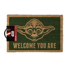 Star Wars Dørmatte Yoda Welcome You Are