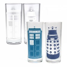 Dr Who Fargeskiftende glass 2-pakning