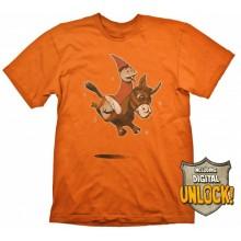 T-Skjorte DOTA 2 Wizard & Donkey + Digital Unlock