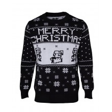 Julegenser Nintendo Super Mario Christmas Svart
