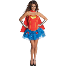 WONDER WOMAN KORSETT