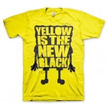 T-Skjorte Yellow Is The New Black