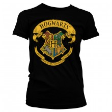 Harry Potter Hogwarts Crest Dame T-shirt