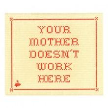 Oppvaskklut Your Mother