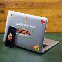 Zelda 8-deler Gadget Klistremerker
