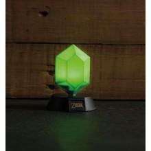 Zelda Green Rupee 3D Lampe