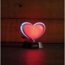 Zelda Heart Container 3D Lampe