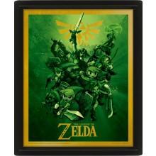 Zelda Lentikulært 3D-bilde