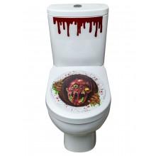 Zombieportal Klistermärke Toalett