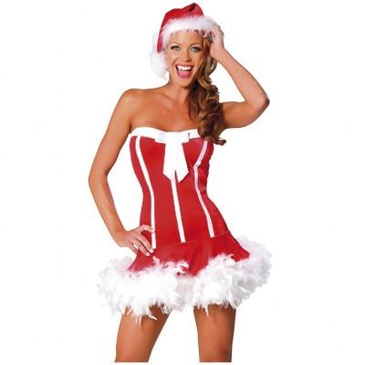 Sexy Santa Girl Kostyme